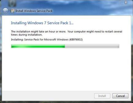 Windows 7 SP1 Leaked- Installation